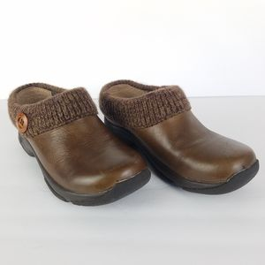 Dansko Women's Kenzie Leather Clogs 6.5-7